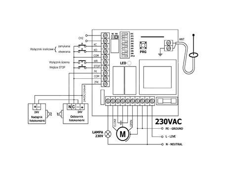 elmes stp sliding gate automation controller