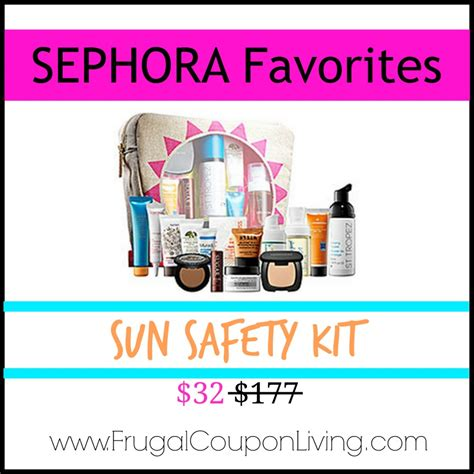 Sephoras Sun Safety Kit Product by Sephora Sun Safety Kit Only 32