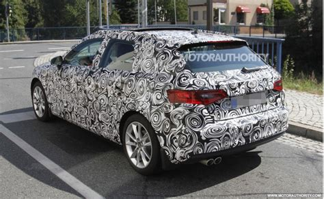 luxury car news reviews spy shots photos and videos 2014 audi a3 sportback spy shots luxury car news reviews