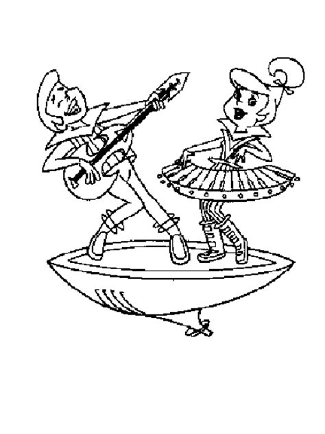 free jetsons coloring pages free coloring pages of the jetsons