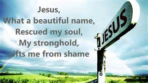 what a beautiful name jesus what a beautiful name with lyrics hillsong