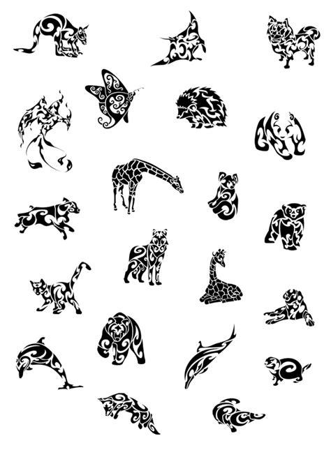 Tatto Vorlagen Muster vorlagen 60 kostenlose tiermotive tattoovorlagen