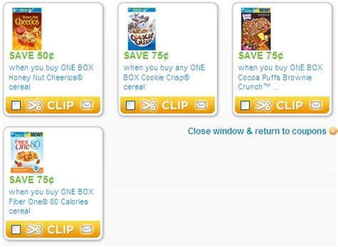 printable coupons food 4 less sister save a lot coupon of the day general mills