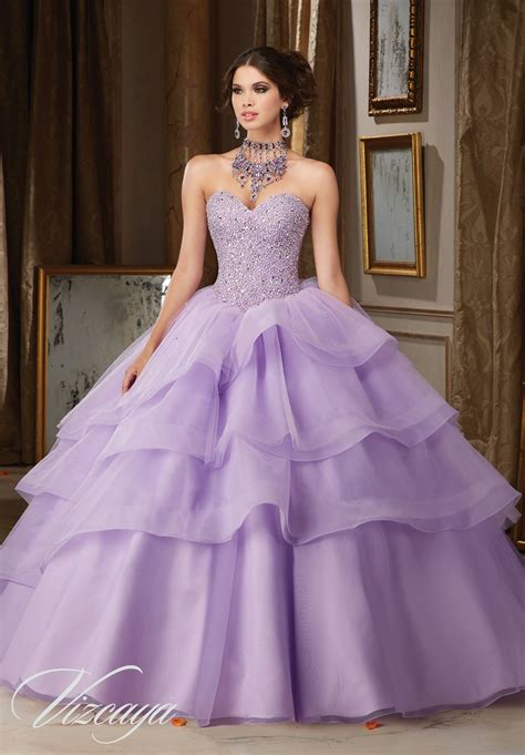 Quinceanera Dresses by Tulle And Organza Quincea 241 Era Dress Style 89111 Morilee