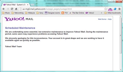 Linux Openoffice Org And Open Source Software Yahoo On Scheduled Maintenance Maintenance Notification Template