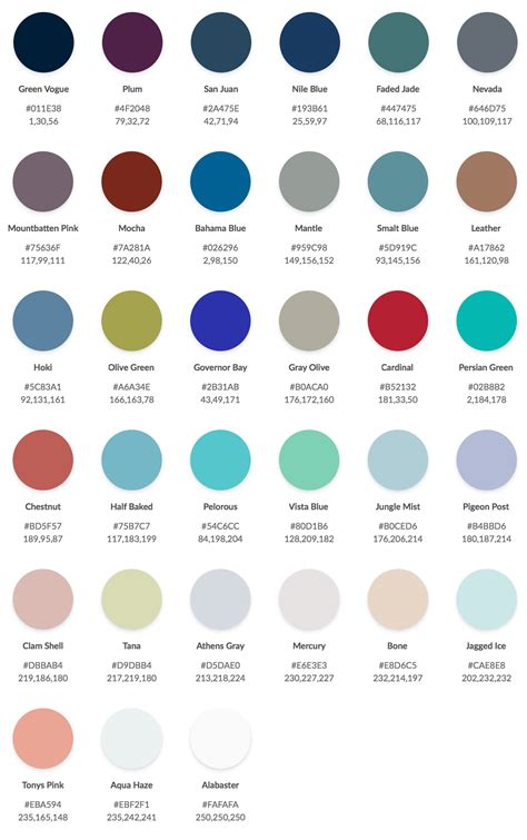 winter color palette winter color palette freebie for proshow 9