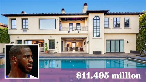 chris paul house celebrity homes 8 stars you can scoop their houses right now