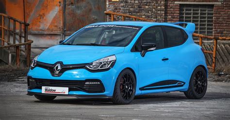 clio renault 2016 2016 renault clio by waldow performance smurfberry blue
