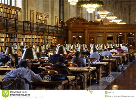 library reading room new york public library reading room stock photo image