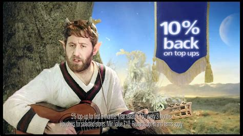 Be You 02 o2 advert thinking of you 10 of your top ups back and