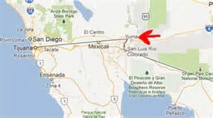 yuma california map boondocking near yuma arizona november and december