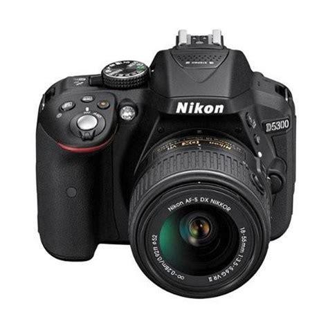 Nikon Tas Dslr 409 D Hitam jual nikon d5300 kit 18 55mm vr kamera dslr hitam