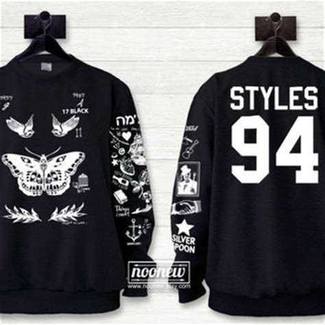 harry styles tattoos sweater shop harry styles sweatshirt on wanelo