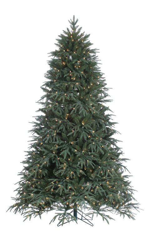 jaclyn smith 75 ft ridgedale pine multi color lit christmas tree 7 5 x 60 quot pre lit fir artificial tree with clear lights ebay
