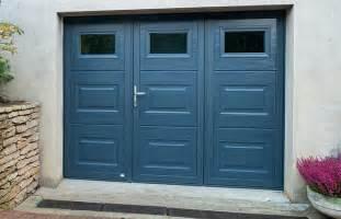 porte de garage sectionnelle avec porte fenetre pvc 4
