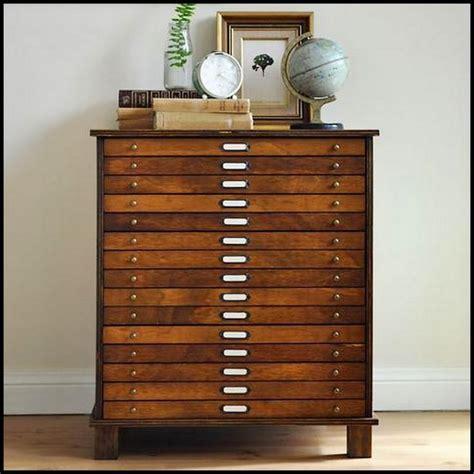 Turn A Dresser Into Mock Filing Cabinet   Home Decor / DIY