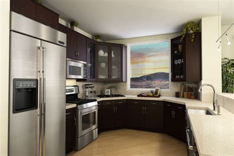 kitchen designs small condominium design small space