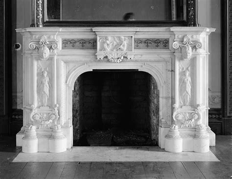 antique fireplace mantel   Victorian fireplace   #