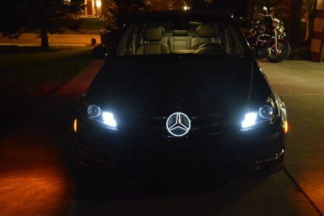 Mercedes Light Up Emblem mercedes releases new grill emblem that lights up mbworld org forums
