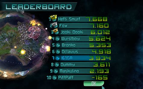 how to mod game center leaderboards leaderboard image imagine earth mod db