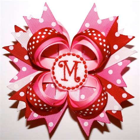 valentines day bow i like big bows s day hairbows more features
