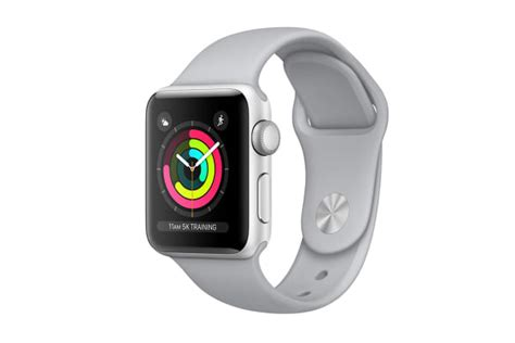 Apple Series 3 Gps 38mm Silver Fog Sport Band Limited apple series 3 silver 38mm fog sport band gps only kogan