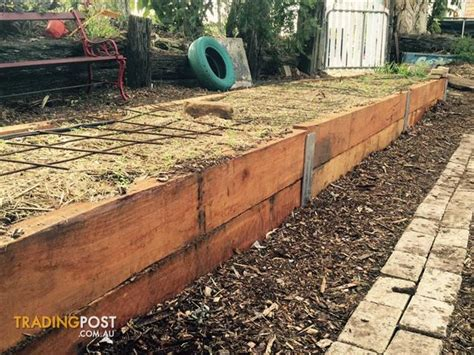 Untreated Landscape Timbers Sale Landscaping Hardwood Sleepers Untreated For Sale In