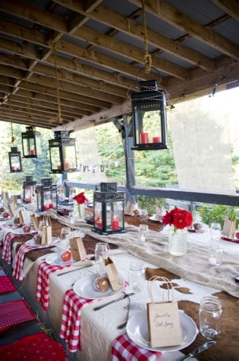 Decorating Ideas For Wedding Rehearsal Dinner Western Style Rehearsal Dinner Rustic Wedding Chic