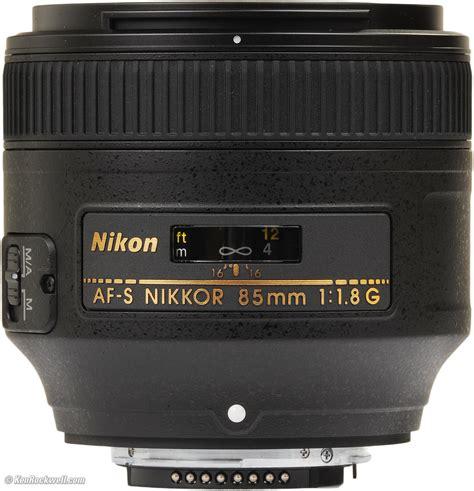 Nikon Af S 85mm F 1 4 G Lensa Kamera Black nikon 85mm f 1 8 g review