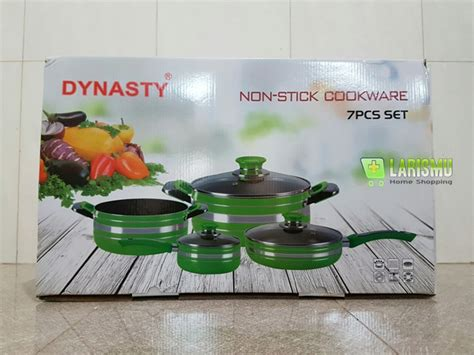 Dynasty Panci 7 Set Orange Color dijual nonstick cookware panci dynasty set harga murah
