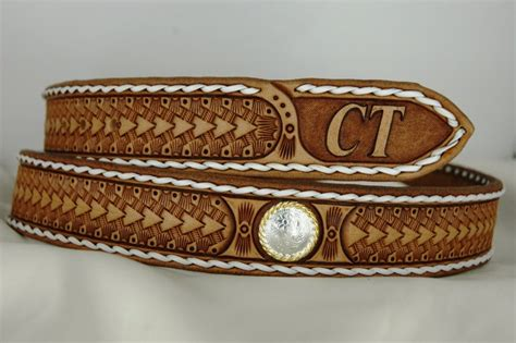 Handmade Cowboy Belts - custom leather belts handmade custom leather belt