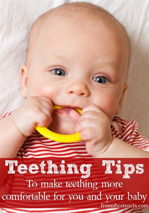 tips to make a comfy teething tips and tricks to make you and your baby more