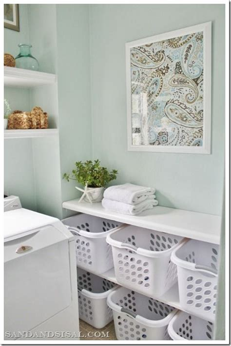 love the laundry basket shelf interior ideas pinterest