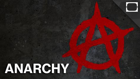 what is anarchy