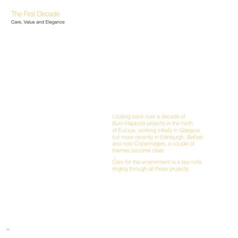 Buro Happold by Buro Happold Ltd 10 Year Book Europe