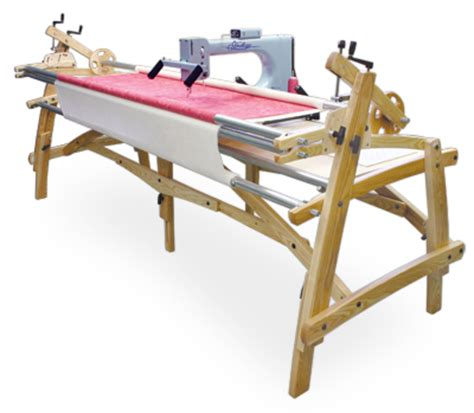 Hinterberg Machine Quilting Frame by Summit Hardwood Machine Quilting Frame Quilting Frames