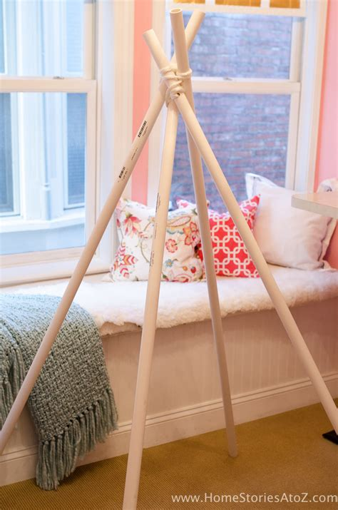 teepee diy diy teepee no sew home stories a to z