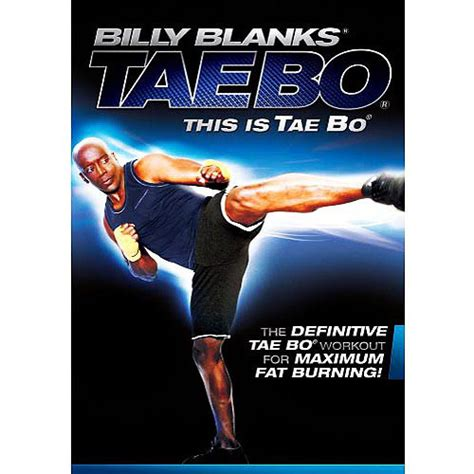 billy banks tae bo billy blanks this is tae bo walmart