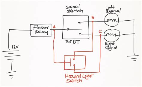 hazard light wiring diagram 1973 vw bug hazard switch