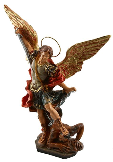 michael the archangel statue 12 inch