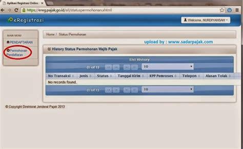 cara membuat npwp pribadi online 2016 npwp pribadi online malesnulis com