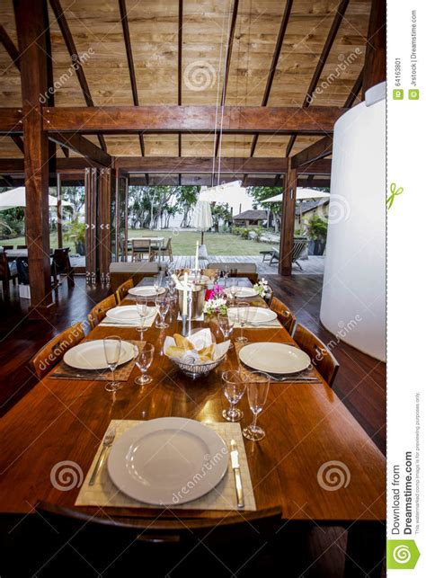 table ready for dinner stock photo image 64163801