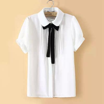sweet bow tie doll chiffon blouse 183 fashion