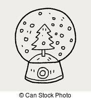 doodle bola snow ilustra 231 245 es e clip arte 34 863 snow