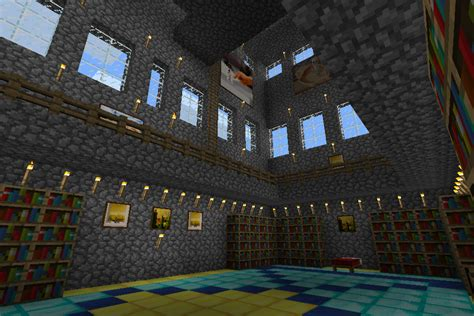 Minecraft Castle Interior by Minecraft The Golden Castle Interior View By
