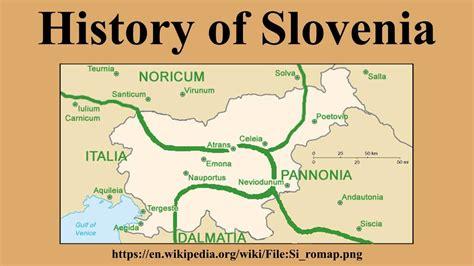 histroy of history of slovenia
