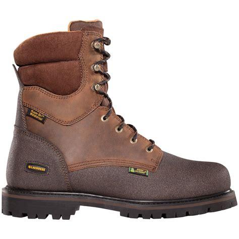 mens thinsulate boots s lacrosse 174 8 quot tough waterproof 600 gram
