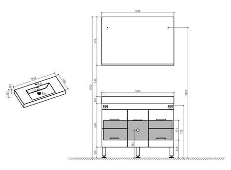 Délicieux Hauteur D Un Lavabo De Salle De Bain #1: p-146198_3-meuble-de-salle-de-bain-sur-pieds-100-cm-blanc-ou-gris-brillant---hora-1000.jpg