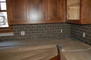 gray glass tile kitchen backsplash grey glass subway tile backsplash home design ideas