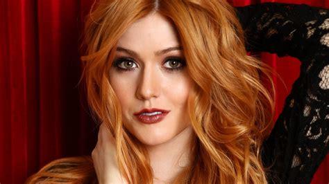 female celebrities with auburn hair katherine mcnamara wallpaper hd 55152 1920x1080 px